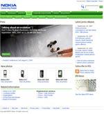 Nokia - signposting a webcast