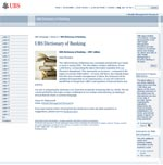 UBS - glossary
