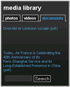 Air France Media Library