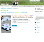 Accenture career matching tool