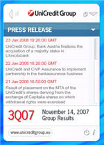 Unicredit Desktop Press Releases