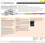 Reed Elsevier - search