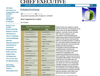 chiefexecmaga1 The Best Companies For Leaders Surveys Humm, I have a Problem