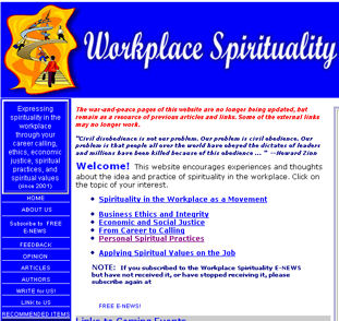 workspirit1 Spirituality And Business Oh Really?