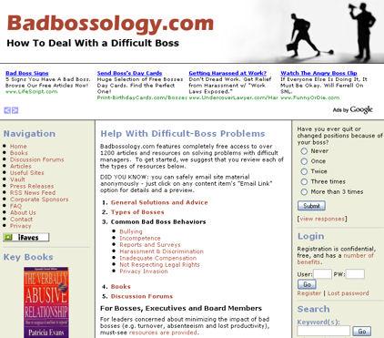 Badbossology