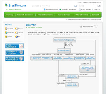 brasiltelorg1 Bravo    BrasilTelcom Corporate Governance