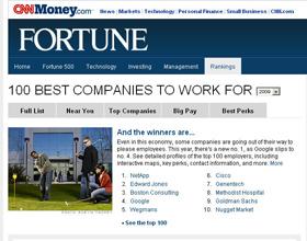 Employer Branding Fortune Top 100 Companies