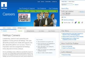 Employer Branding NetApp