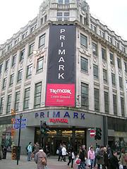 Primark Store, Manchester