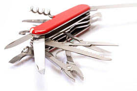 swiss army knife 280 On harsh truths and the corporate website
