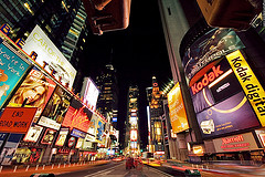 times square new york city The New Trend in Branded Cities   Love It or Hate It?