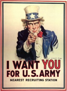 army poster resized 223x300 Recruiters:  Ten Hut!