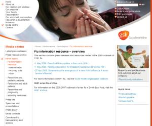 gsk flu centre