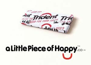 Trident Launches A Little Piece Of Happy Campaign