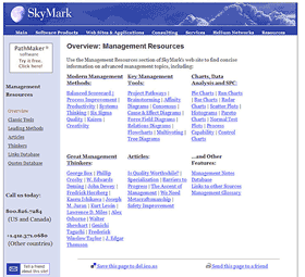skymark s Websites Offering Business Management Tools