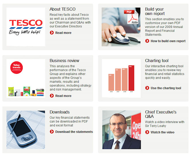 Tesco Annual Report