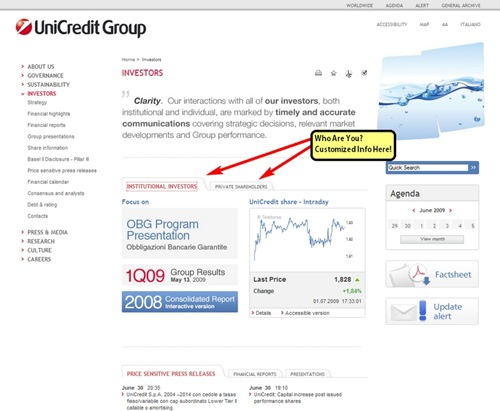 UniCredit-IR-Tabbed-Interface-Screen