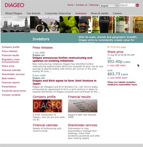 diageo sm Diageo: Now if They Could Just Do Something About the Name...