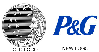 procter and gamble logo The Procter & Gamble Logo Then and Now