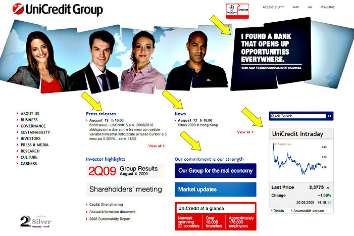 unicredithome UniCredit Group  Homepage and Integrity