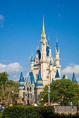 walt disney world: cinderella castle