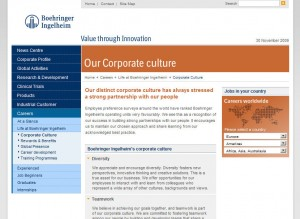 Culture 300x219 Explaining Corporate Culture:  How Well Are Websites Doing?