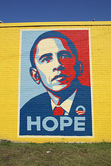 obama hope poster Obama and the Revitalization of Brand USA
