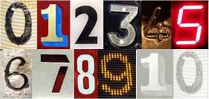Transport Number Collage