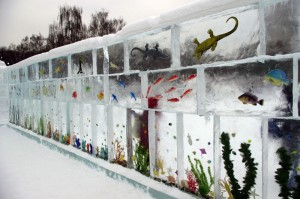 Russian Ice Aquarium