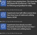 CERN Twitterstream