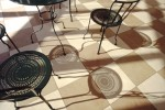 chairs' shadows