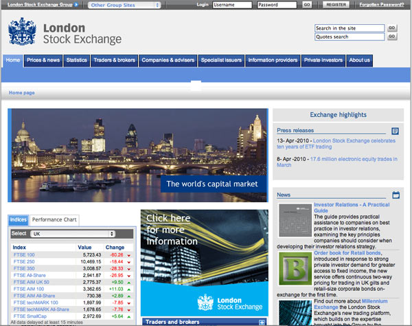 LSE What Makes for Effective Investor Relations Sites?  Part 16: Visibility