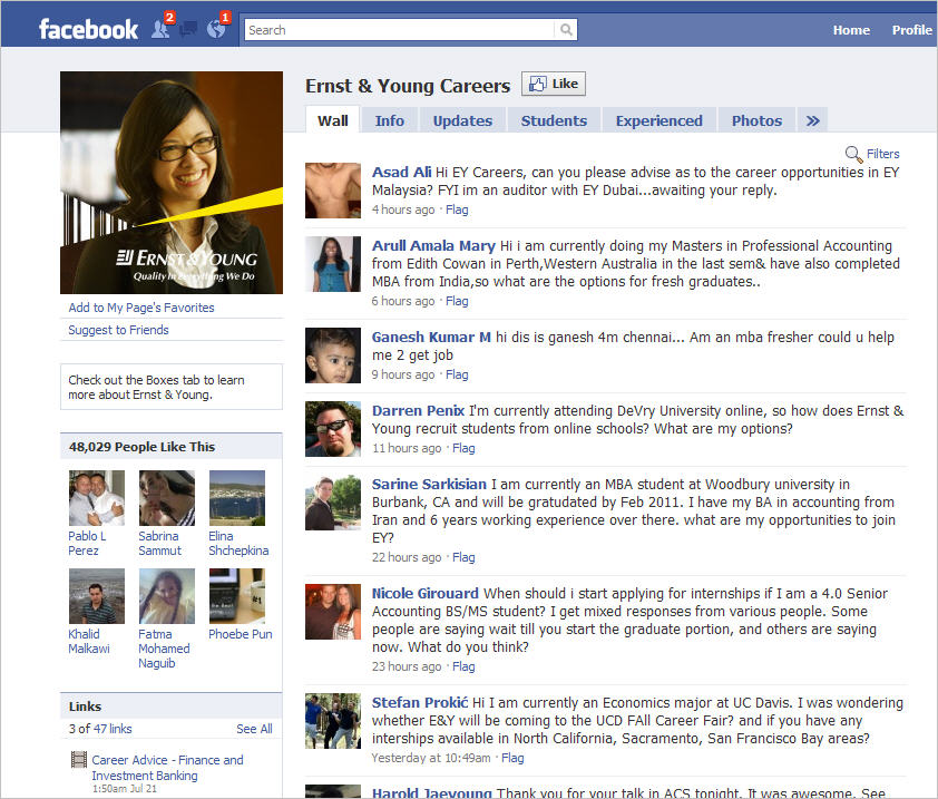 Facebook For Corporate Recruiting