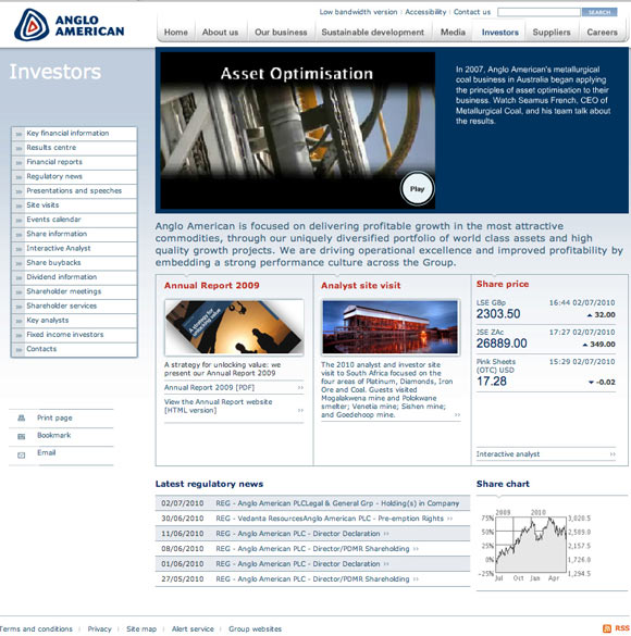 AngloAmerican Annual Report