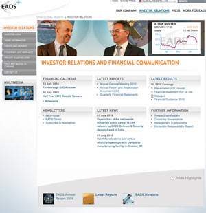 EADS Annual Report