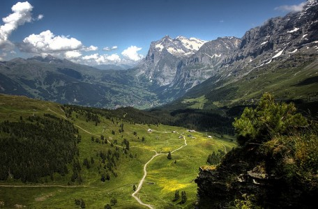 Kleine Scheidegg hiking trails