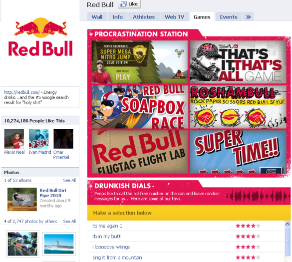 red-bull-facebook-page