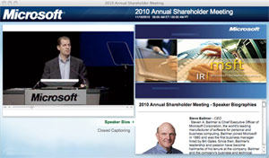 MSFT Annual mtg What Makes for Effective Investor Relations Sites?  Part 31: Annual General Meetings