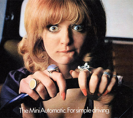 early advert for a mini
