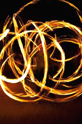 fire dancing The Corporate Website: Interview with The Group
