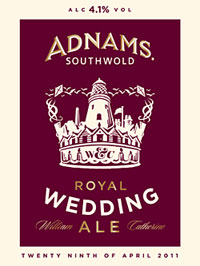 royal wedding merchandise adnams royal wedding ale Cashing in on the Royal Wedding   5 Bizarre Royal Wedding Merchandise Options