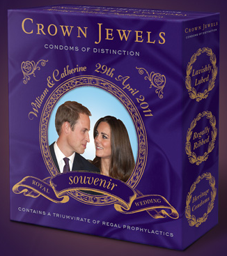 royal wedding merchandise condoms Cashing in on the Royal Wedding   5 Bizarre Royal Wedding Merchandise Options