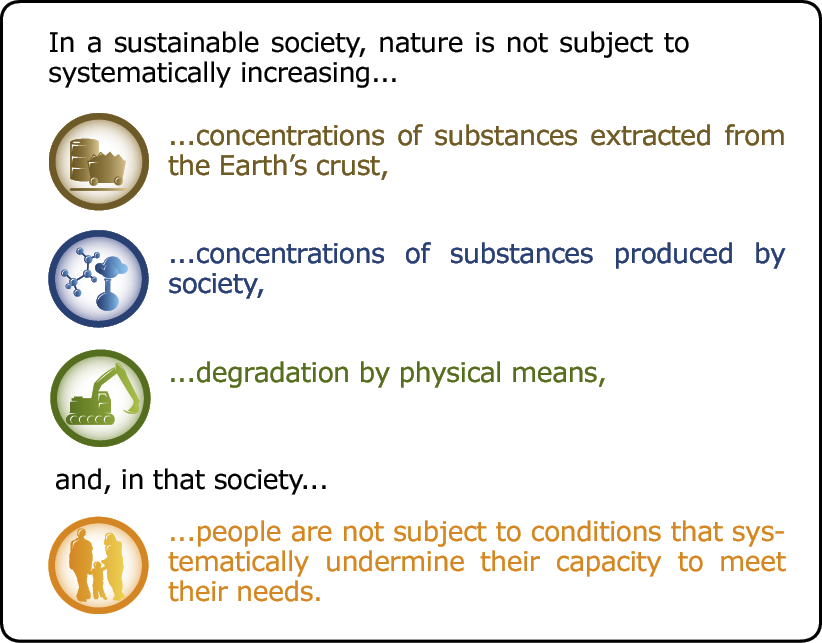 principles of sustainability Three principles of sustainability unit 1 study play sustainability refers to the capacity of the earth's natural systems to survive, flourish, and adapt which discipline is most associated with environmental science ecology a forest with plants, animals, and various other organisms is an example of an.