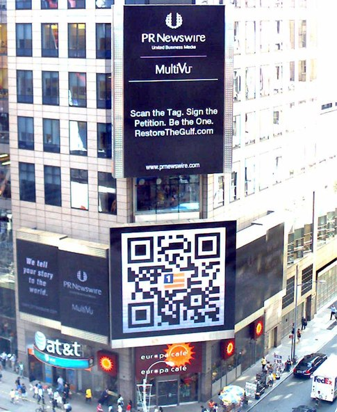qr code times square What Do Consumers Want When They Scan QR Codes?