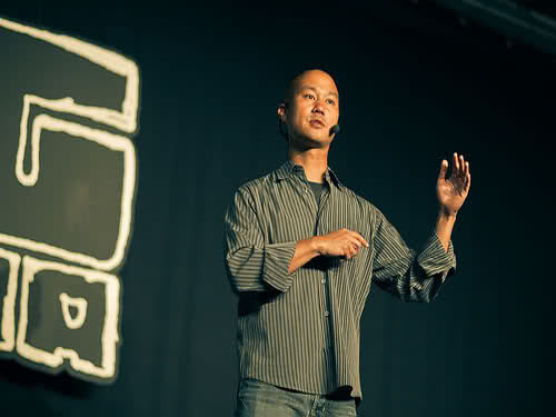 tony hsieh How should CEOs Engage with Social Media