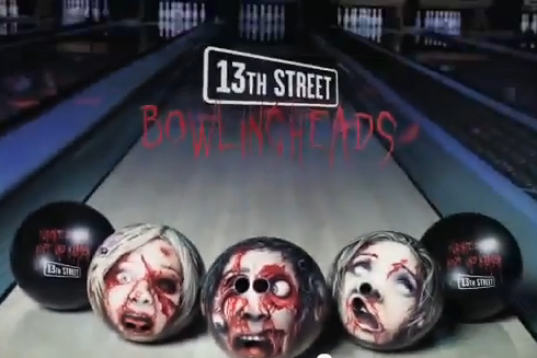 13th street 13th Street Creative Ambient Media Advertising   Bowlingheads