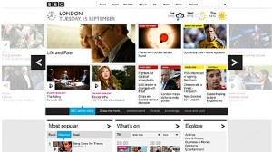 bbc homepage 300x168 Tablets Prompt Website Redesign