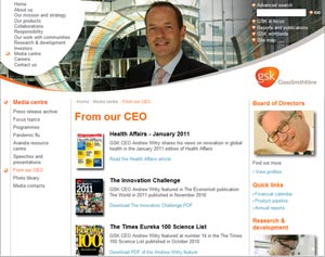 gsk from ceo s Spotlight on the CEO