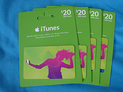 itunes gift card Apple Surpasses Walmart in Online Shoppers