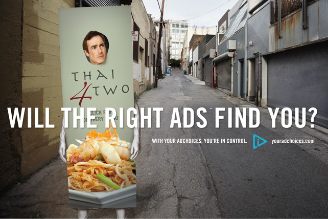 adchoices Advertising Options Icon Puts Positive Spin on Behavioral Targeting